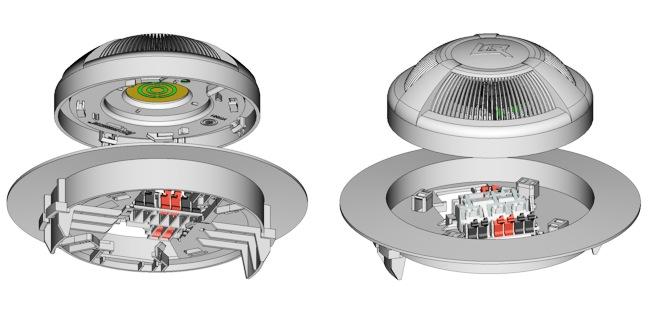 Извещатель дымовой  ИП 212-87 для подвесного потолка